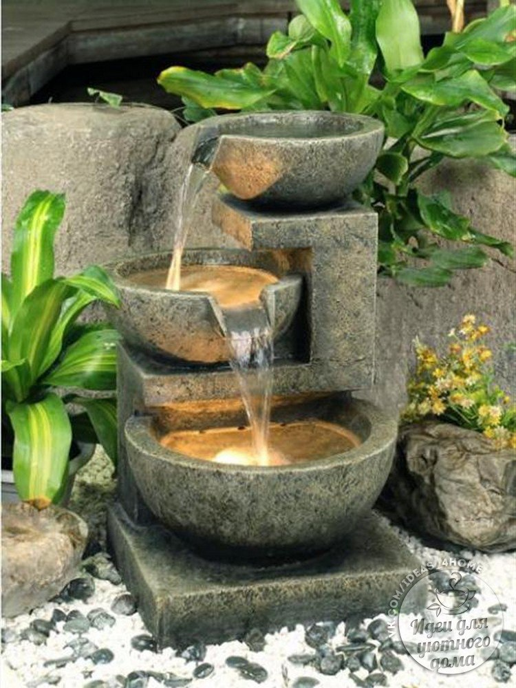 Как сделать фонтан для квартиры своими 673