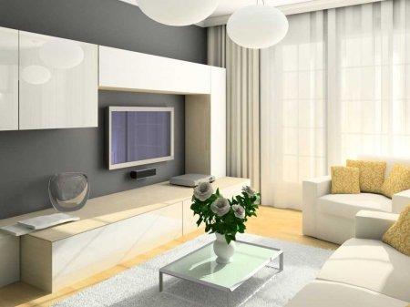Эффективный дизайн маленькой гостиной