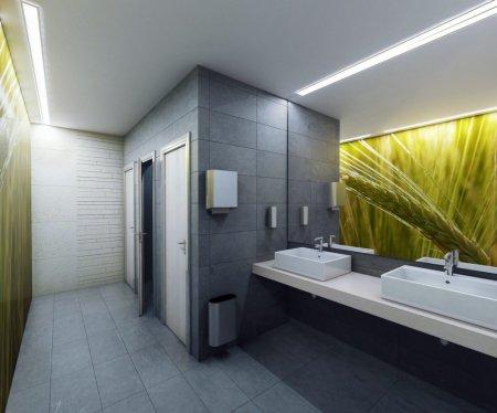 Дизайн туалетного помещения