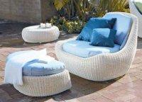 Особенности эксплуатации плетеной мебели из искусственного ротанга