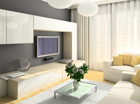 Интерьер в новой квартире