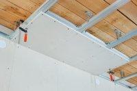 Как смонтировать потолок из гипсокартона своими руками