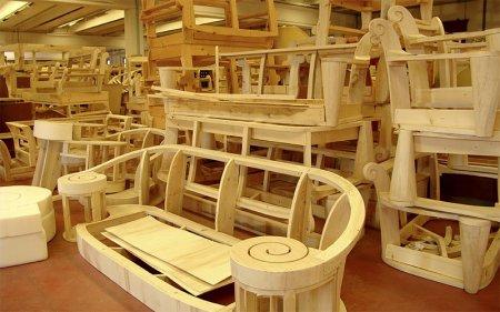 Дерево в мебельном производстве