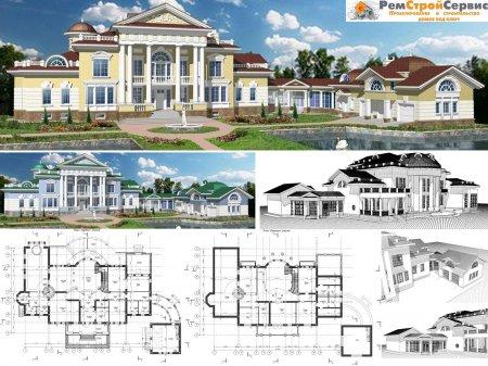 Проекты усадебных домов