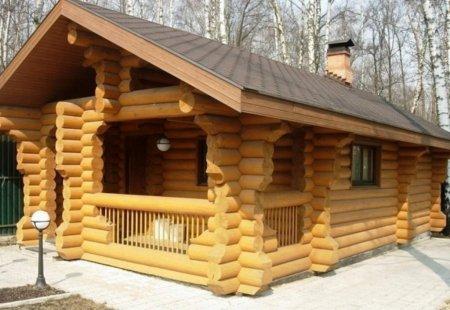 Срубы домов и бань