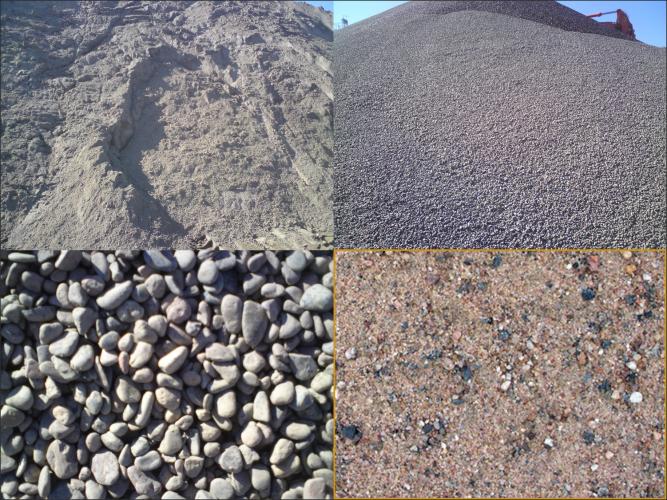 Нерудные строительные материалы и их разновидности