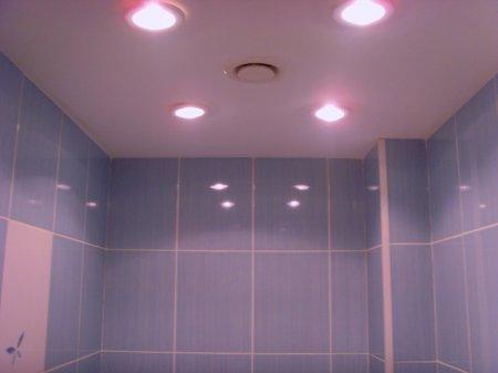 Ванная комната. Подбираем освещение
