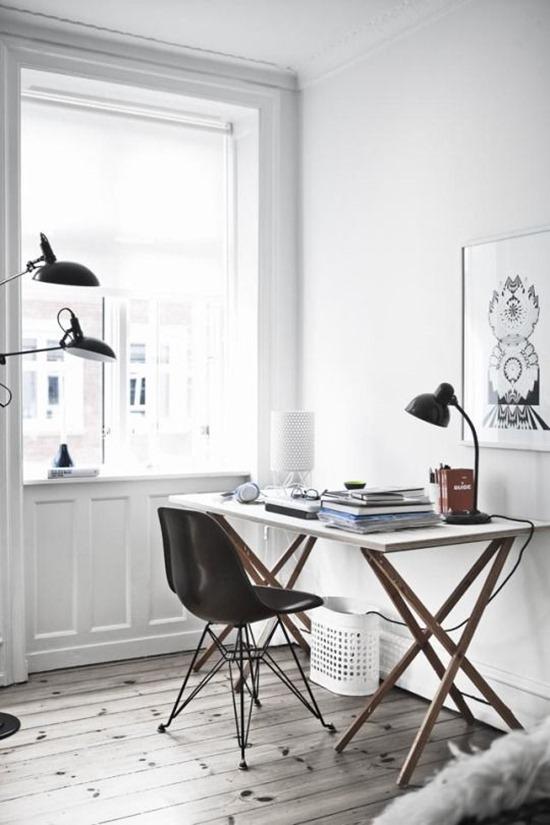 10 идеальных светлых домашних офиса. Выбор редакции