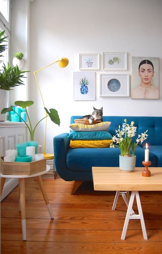 6 способов сделать диван в гостиной излюбленным местом всей семьи