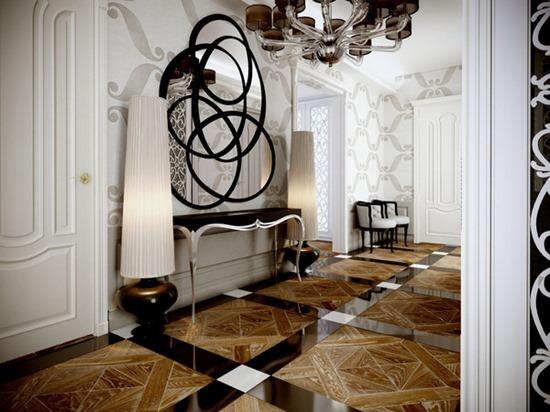 Блистательный арт-деко в интерьере современной квартиры