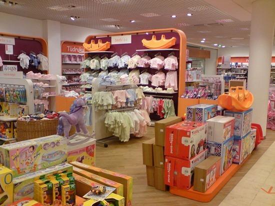 Дизайн интерьера магазина для детей
