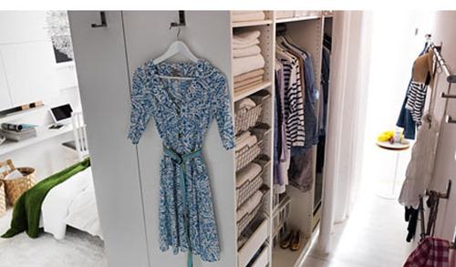 Где найти место под гардеробную комнату в малогабаритной квартире