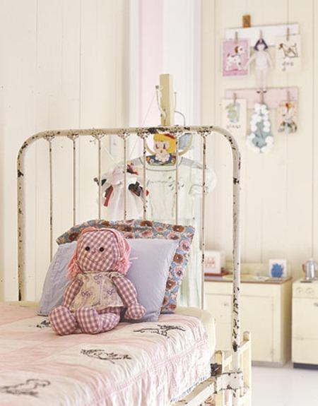 Идеи для дизайна детской комнаты в винтажном стиле
