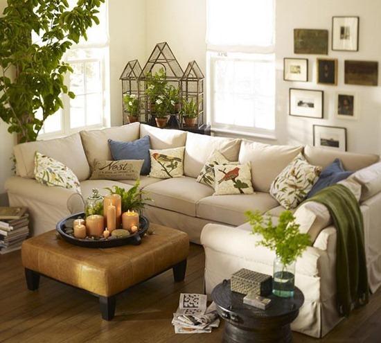 Идеи для обустройства маленькой и тесной гостиной
