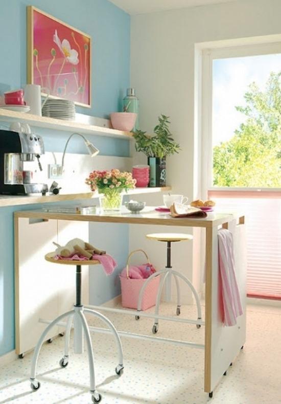 Как объединить балкон и кухню
