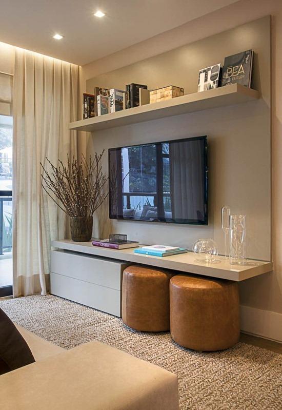 Как обустроить маленькую гостиную
