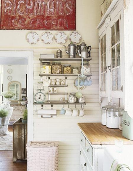 Кухни в стиле шебби шик