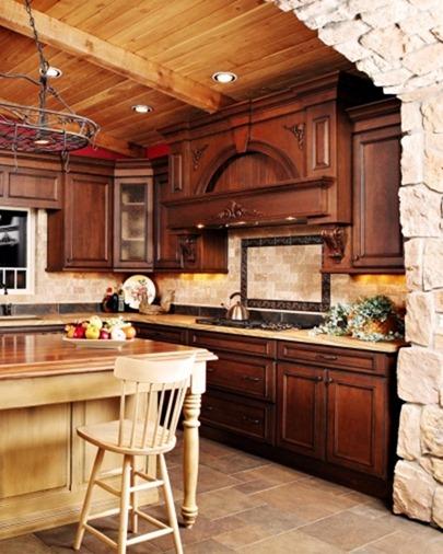 Кухня в рустикальном стиле