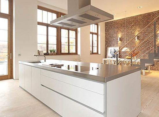 Минималистично и необычно: дизайн интерьера кухни в стиле минимализм