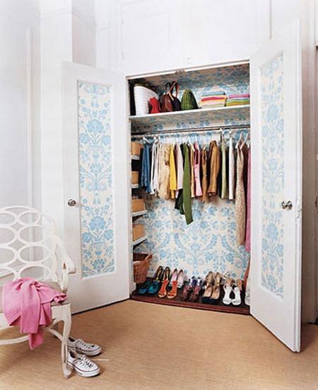 Очень маленькая гардеробная комната: решения для малогабаритных квартир