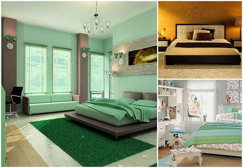 Особенности интерьера современной спальни