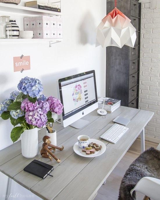 Пять идей для обустройства домашнего офиса на лето