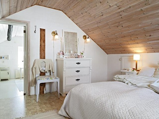 Спальня в мансарде: дизайн интерьера и оптимизация пространства