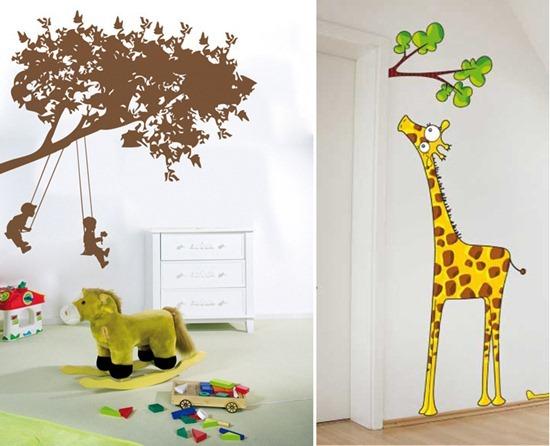 Веселая детская комната: сказочный декор для детской