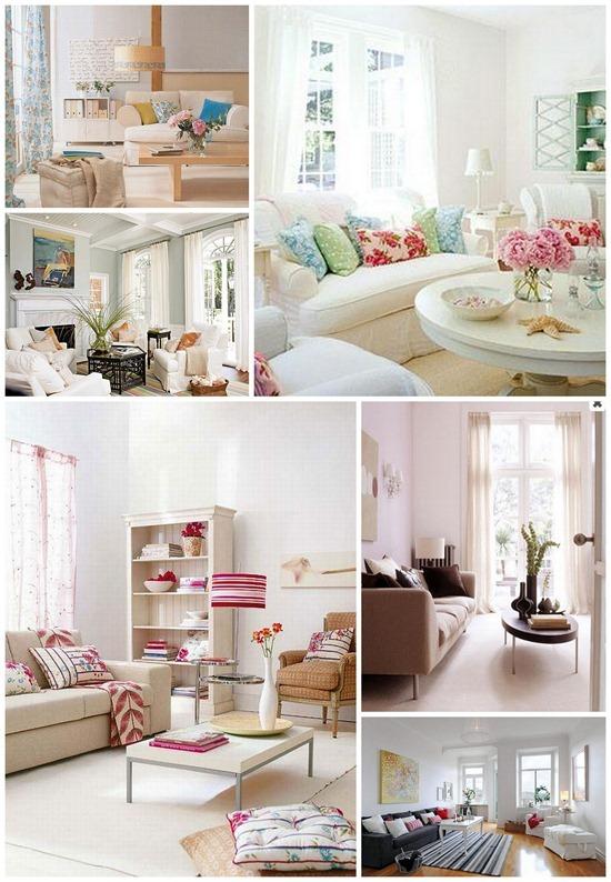 Весенний декор для гостиной: два вида дизайна интерьера для весны