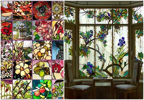 Витражные стекла и их применение в жилом помещении